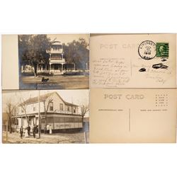 Two RPC Postcards of Early California Hotels  (120268)