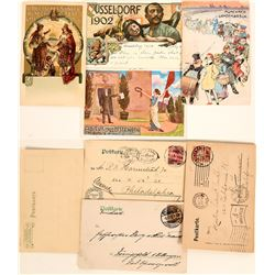 European Festival Postcards  (4)  (118578)