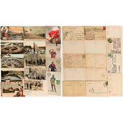 International Exhibition Postcards, 1907 (14)  (118577)