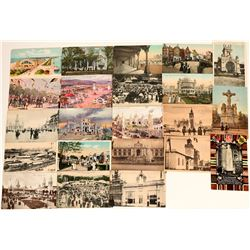 International Expos Postcards Group Circa 1905-1915 (21)  (118569)