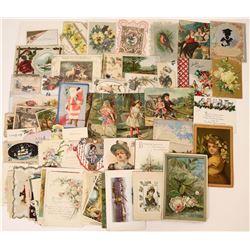 Seasonal Greeting Cards (80) Vintage!  (124327)