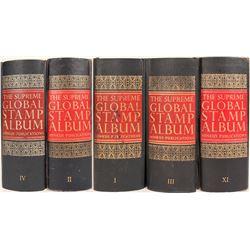 Minkus 5 Volume Supreme Global Stamp Album  (125249)