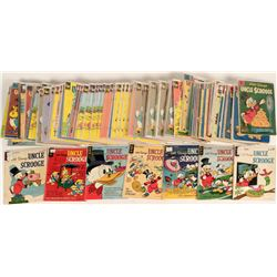 Uncle Scrooge Comic Books (130)  (120680)