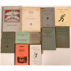 Idaho History Native Americans, and Mining Book Collection  (116843)