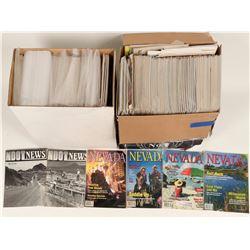 Nevada Magazine Archive c1964-1990s.  (122748)