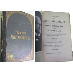 History of the Utah Volunteers (Book)  (85877)