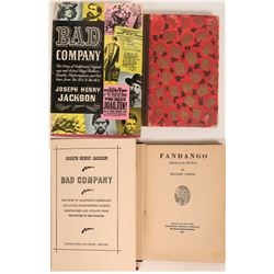 Bad Company and Fandango, books of the old west  (120238)
