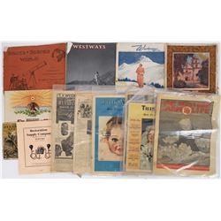 Travel Magazine Grab Bag  (124518)