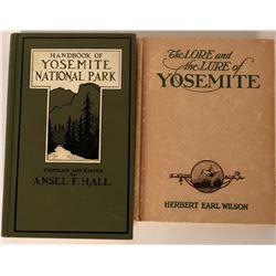 Author Signed Yosemite Books  (124301)