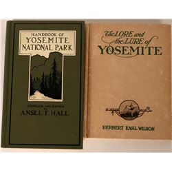 Author Signed Yosemite Books  (124301)