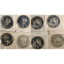Republic of Panama One Balboa Coins  (124027)