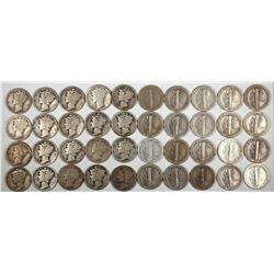 Mercury Dimes 1930-31  (122596)