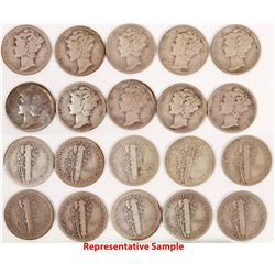 Mercury Dimes 1936-1937  (122598)