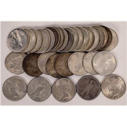 Peace Dollar Collection (31 coins)  (124138)