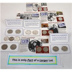 U.S. Half Dollars in Collector Presentations  (124141)