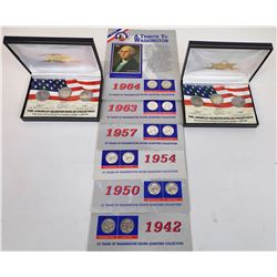 United States Quarters in Collector Presentations  (124140)