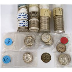 Washington Quarter Partial BU Rolls (161 quarters)  (124172)
