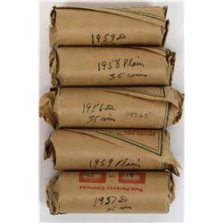 Washington Quarter Partial BU Rolls (175 quarters)  (124171)