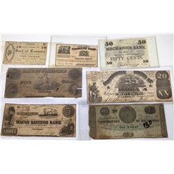 Broken Bank Note Collection (7)  (124080)
