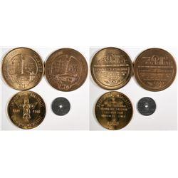 Washington Medal Collection (4)  (124024)