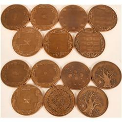 Franklin Mint Calendar Medals  (124001)