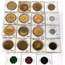 Northeast Medal Collection (19 pieces)  (124067)