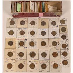 Large Collection of KYT Victoria Tokens (Lot of 92)  (122080)