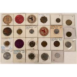 Dos Palos California Token Collection  (121954)
