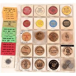Fresno County California Token Collection  (122933)