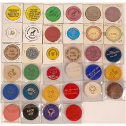 Fresno California Fraternal Token Collection  (121957)