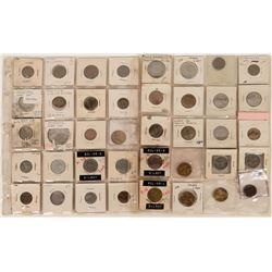 Gilroy California  Token Collection (40)  (121955)