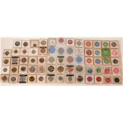 Hanford California  Token Collection (64)  (122656)