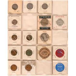 Lemoore California Token Collection  (122655)