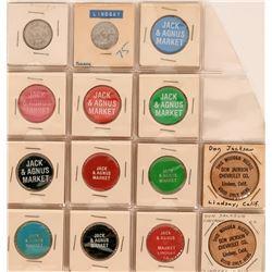 Lindsay California Token Collection  (122659)