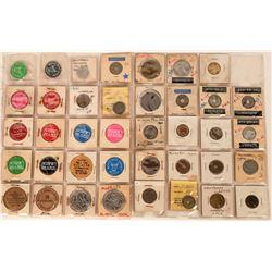 Modesto California Token Collection  (122653)