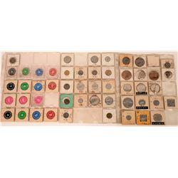 Porterville California  Token Collection  (122652)