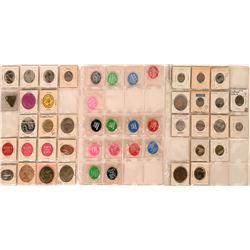 Tulare California Token Collection  (122660)