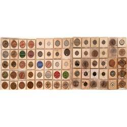 Visalia California  Token Collection (71)  (122661)