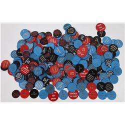 """California Plastic """"Bar"""" Token Collection  (120247)"""