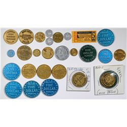 Collection of Michigan Prison Tokens (25)  (125751)