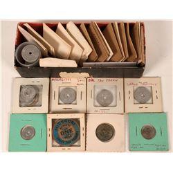 Bill Weber's Tax Token Collection  (124000)