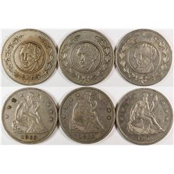 Liberty Seated Dollar Counters  (122968)