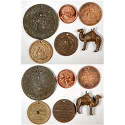Temperance and Other Medals  (122980)