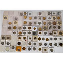"""Tokens/Medals/Pins """"Judaica"""" Group  (120258)"""