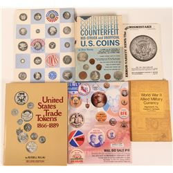 U. S. Coin & Token Reference Books  (125140)