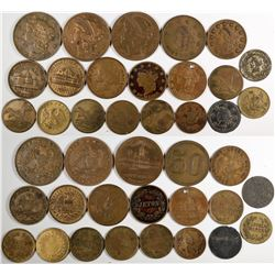 U. S. Gold Coin Counter Collection  (122986)