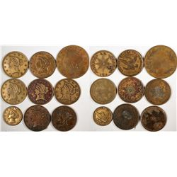 """U.S. Gold Coin """"Look Alike"""" Counters  (122961)"""
