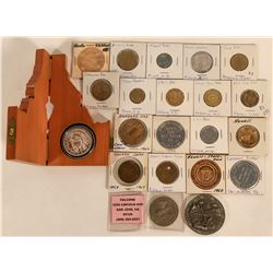 Western States Token Collection (21)  (124021)
