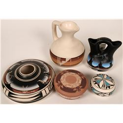 Tourist Pottery - 5 Pieces  (119481)