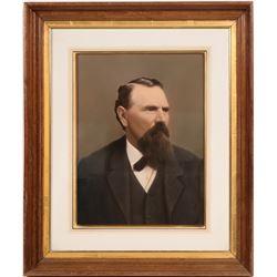 Portrait of Governor Milton Latham  (108517)